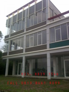 Jual kusen Aluminium, kaca tempered Composite Panel, (ACP) Seven Jakarta, Bekasi, Cikarang, Karawang, Bandung, Cirebon, Bogor, Sukabumi, Tangerang, Serang, Cilegon