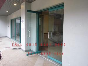 Pintu Kaca otomatis Tempered Dinding kaca,  Jakarta, Bekasi, Cikarang, Karawang, Bandung, Cirebon, Bogor, Sukabumi